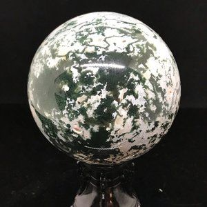 Other - Moss Agate Sphere